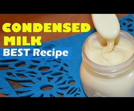 The Best Quick CONDENSED MILK Recipe (No Bake)