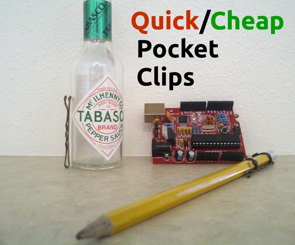 Add a Pocket Clip to Virtually Anything