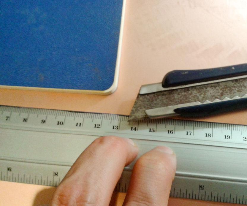 Como cortar material para un circuito impreso (PCB)