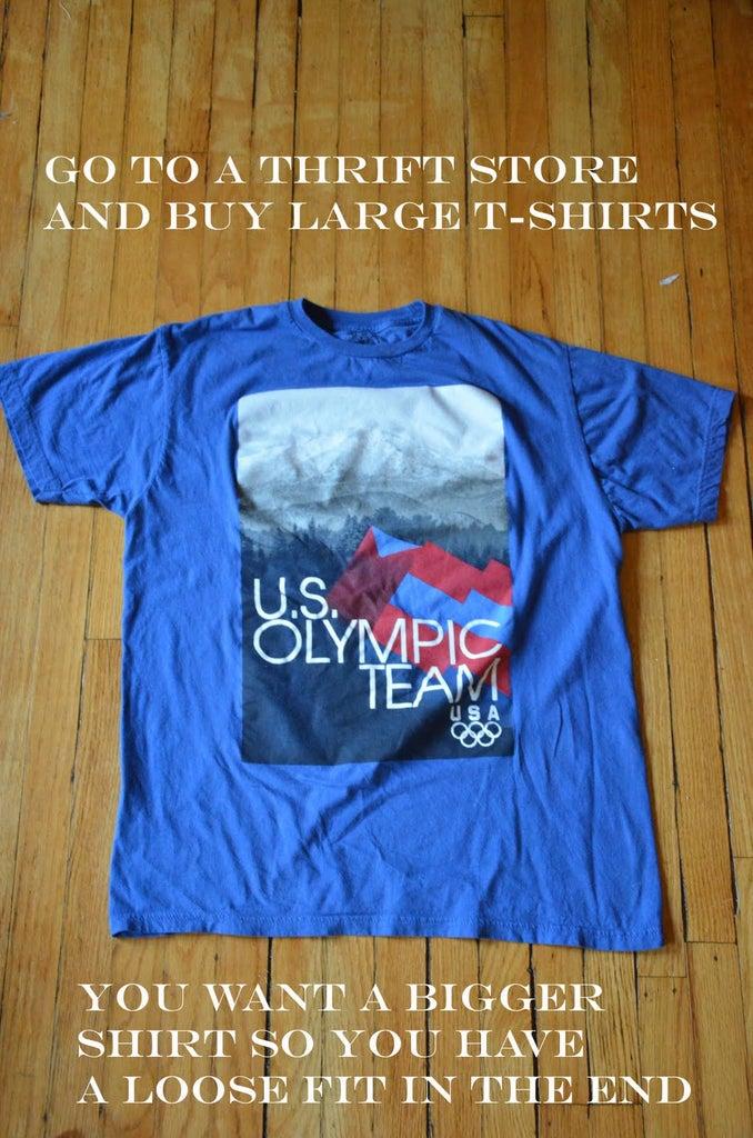 Get an Old T-Shirt