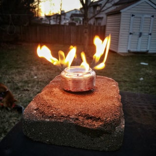 "Pocket Alcohol Stove - ""Jet Stove"" (Camper's Guide)"
