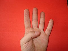 HOW TO COUNT TO TEN ON ONE HAND (in Chinese)