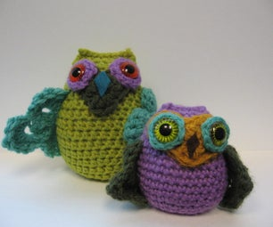 Owlfred, Whoover, and Teddy