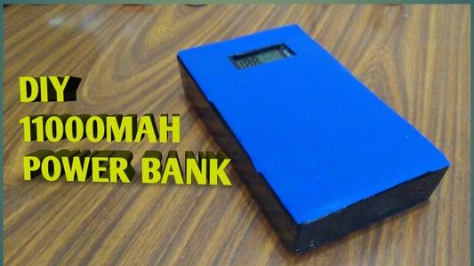 Diy 11000mah Power Bank