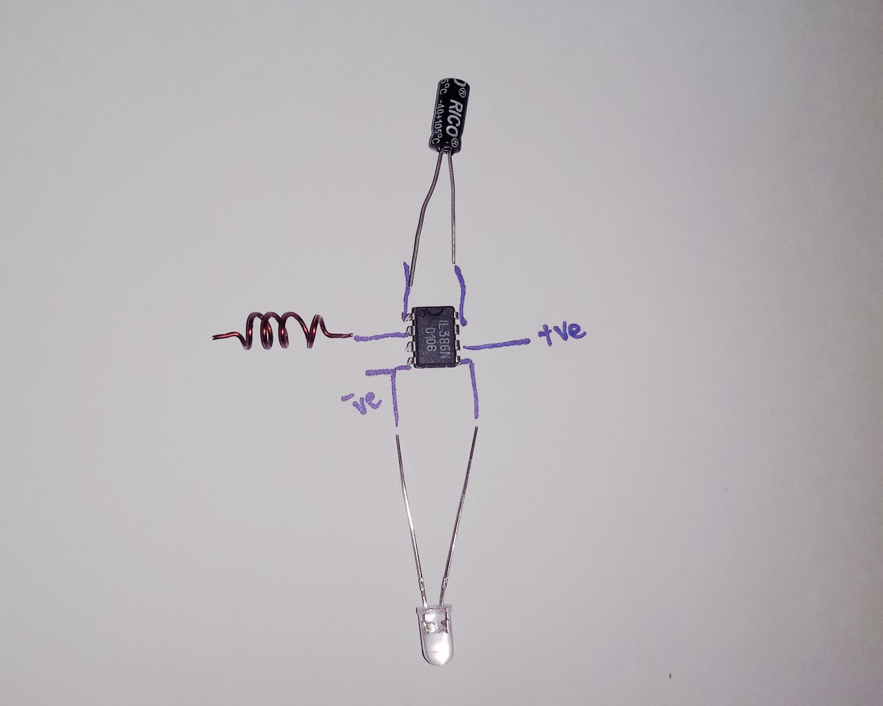 Circuit for the Detector
