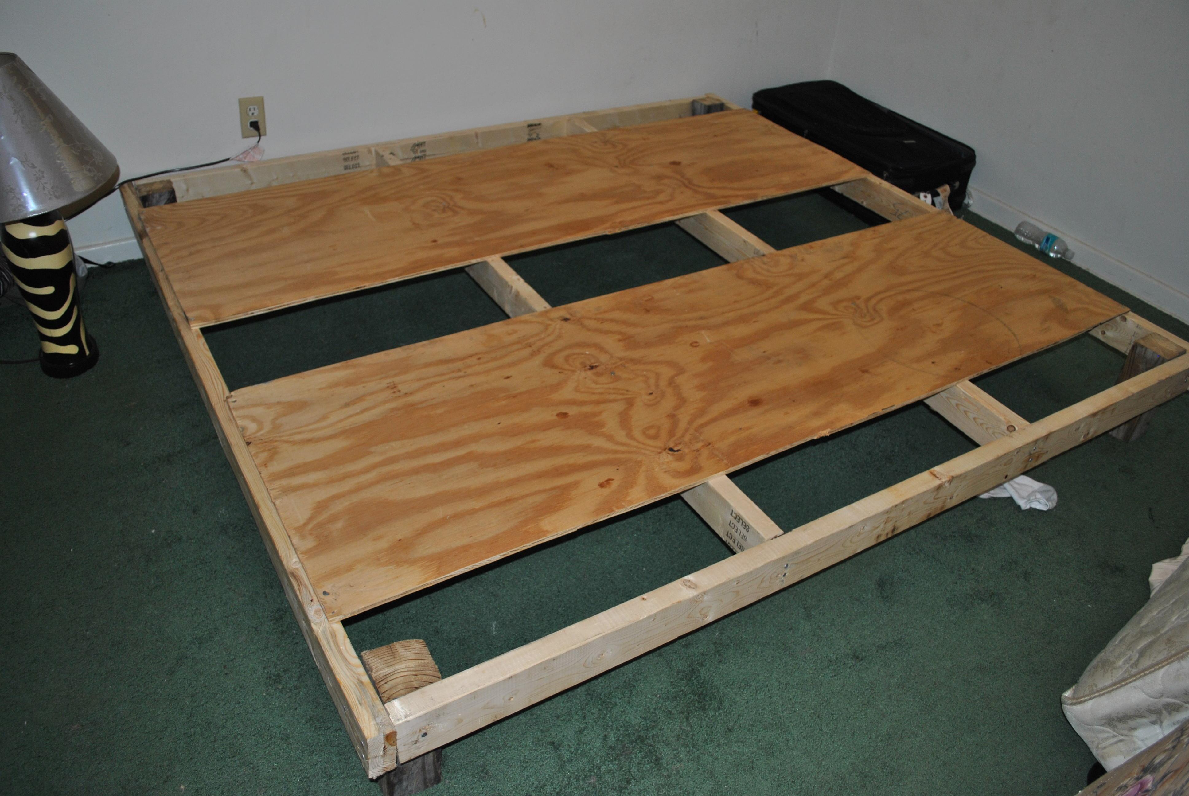 Diy Bed Frame For Less Than 30 6 Steps Instructables