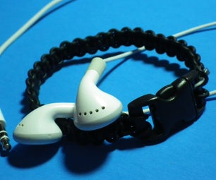 Headphone/Ear Bud Bracelet