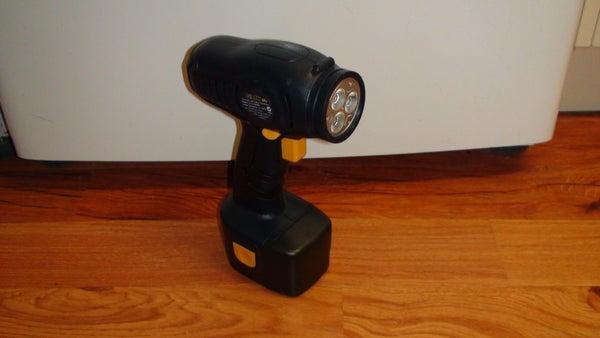 Cordless Drill Rechargable LED Spotlight