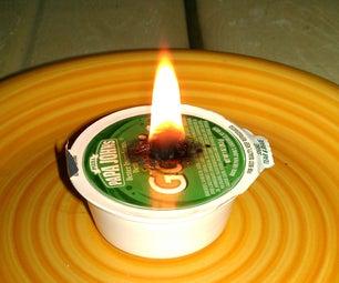 Garlic Sauce Oil Lamp