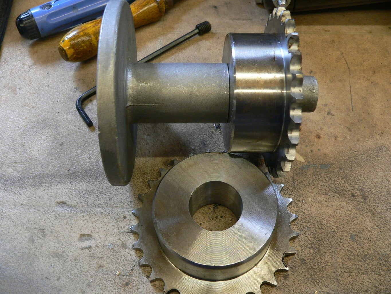 Modify the Chain Wheels