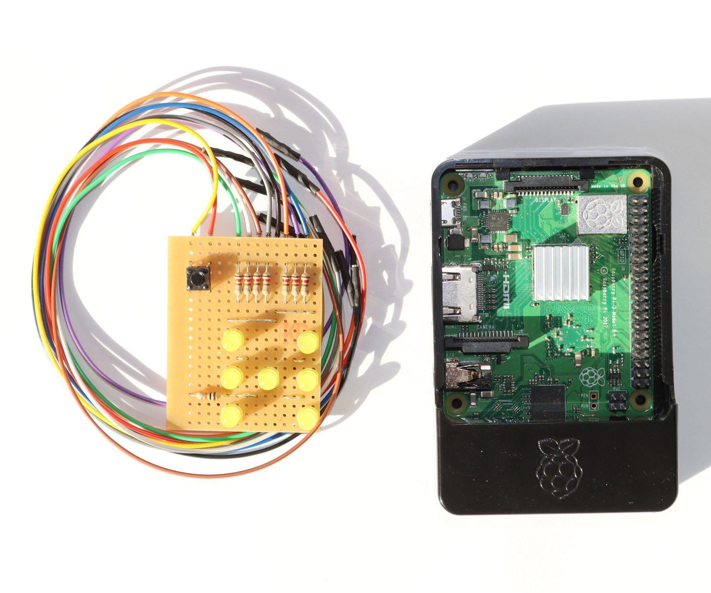 Raspberry PI Dice Project