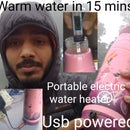 DIY  ELECTRIC HEATED WATER BOTTLE(USB)
