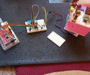 Arduino + LEGO Rotating Castle