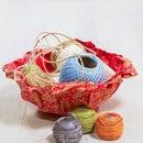 Easy Fabric Bowls
