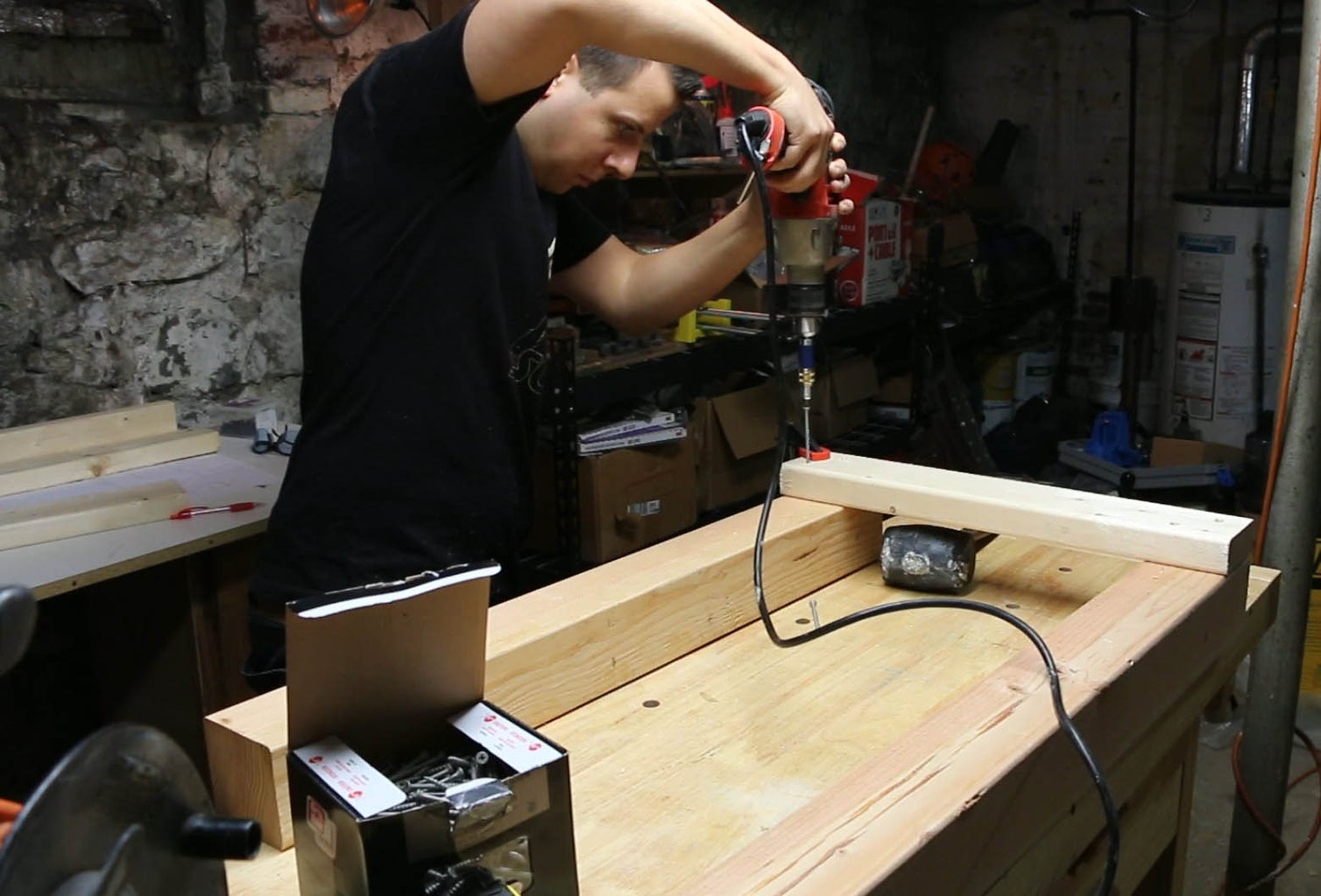 Assemble the Workbench Top