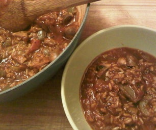 Vegetarian Jambalaya With Brown Rice
