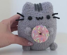 Pusheen With Doughnuts Plush