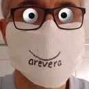 Simplest Face Mask: Disinfectable and Disposable: No Tools, No Sew