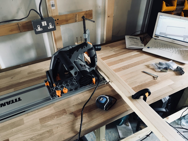 Chop Saw Provision - Worktop