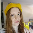 Enchante! Lemon Yellow Beret!