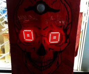 Halloween Scary Eyes Prop