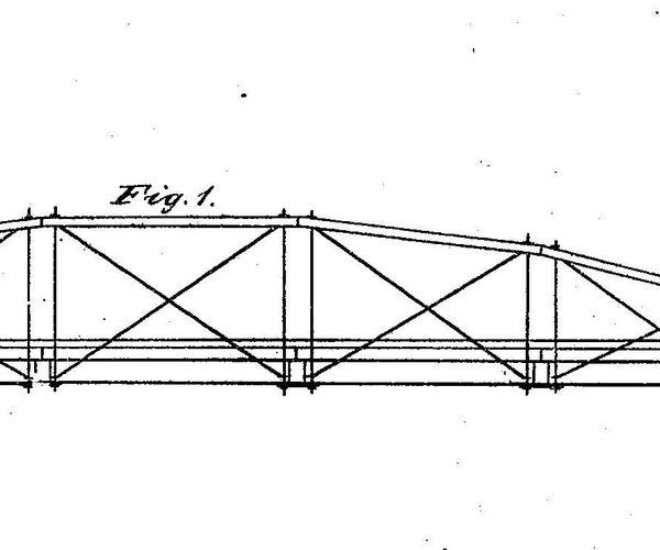 Cardboard Whipple Truss Bridge