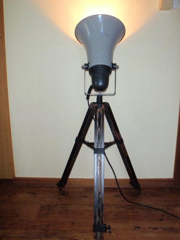 Junk Yard Lamp