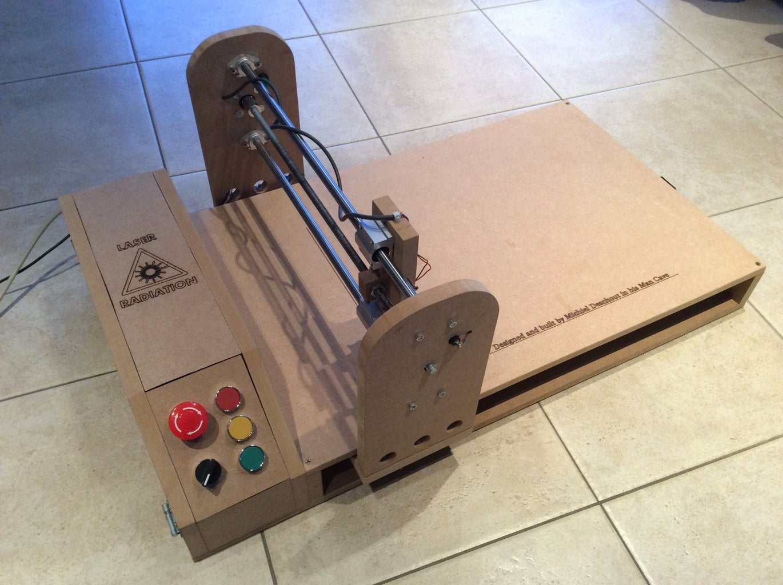 Arduino Laser Engraver Wood Design!