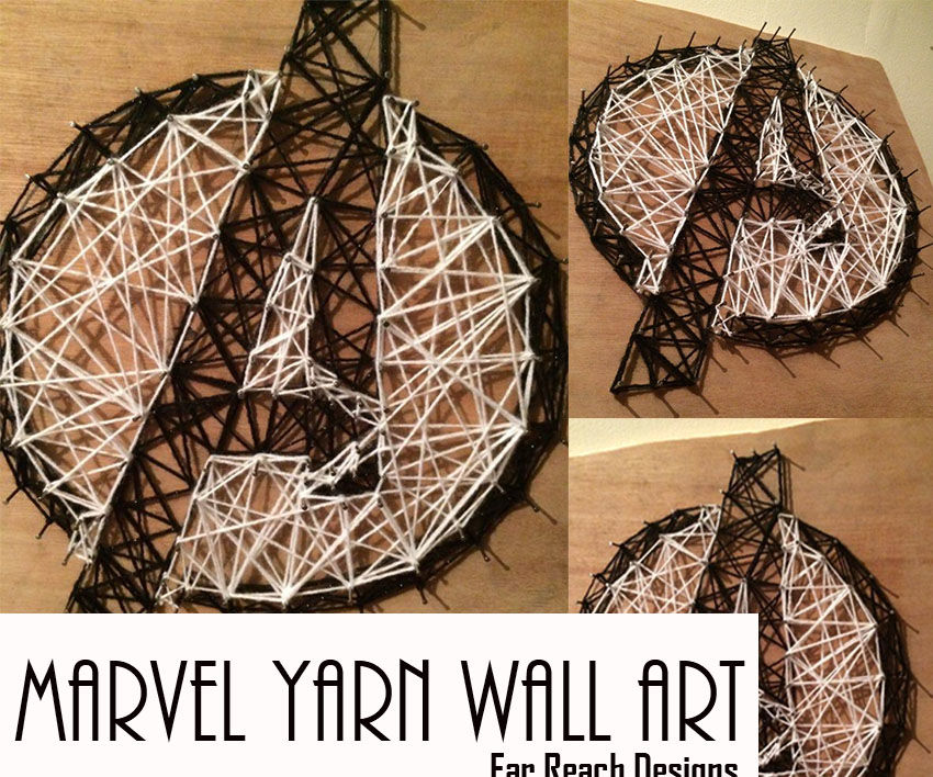 Marvel Yarn Wall Art