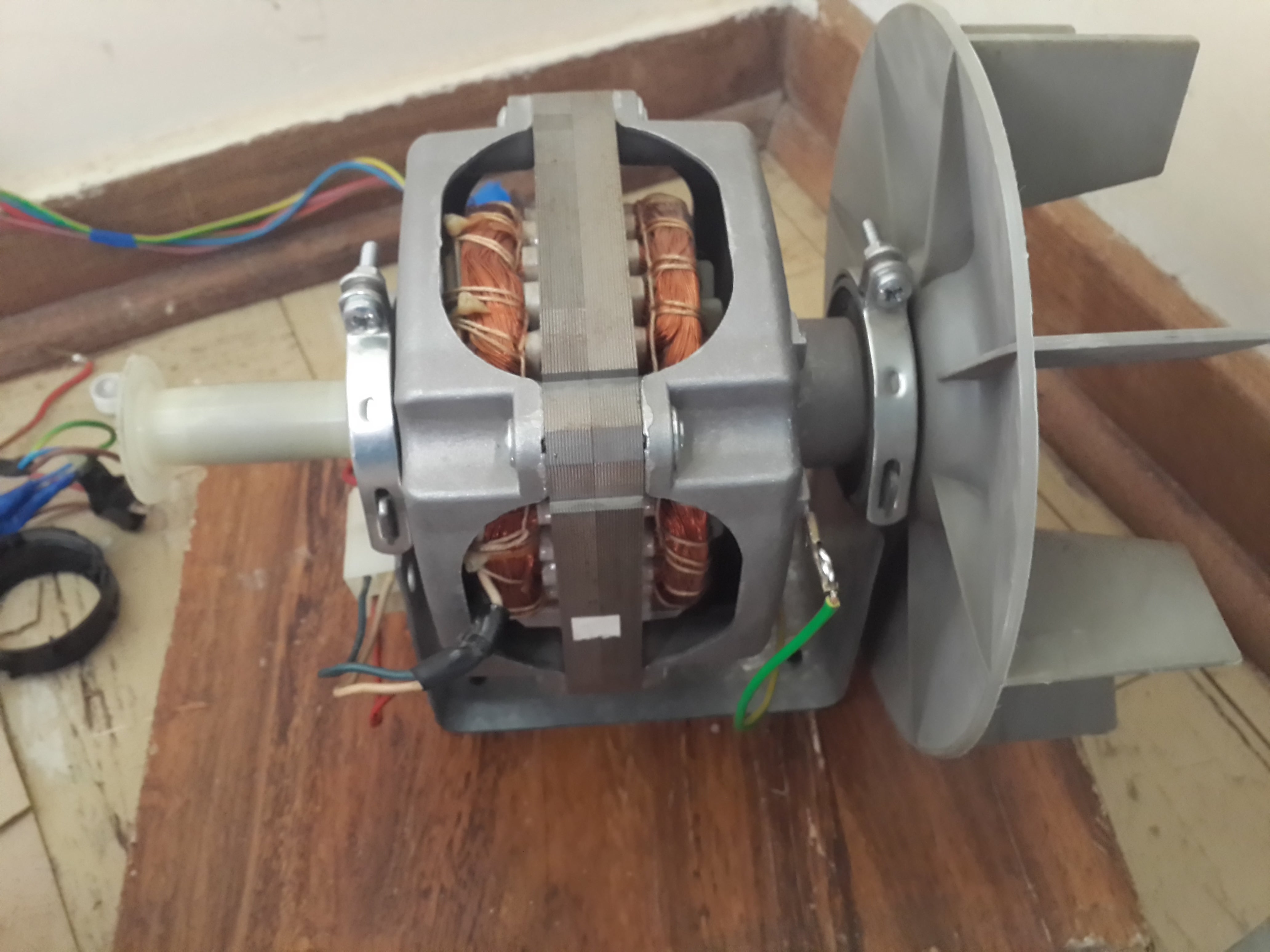 Wiring Clothes Dryer (tumble Dryer) Motor : 3 Steps - Instructables | Dryer Motor Wiring Harness Layout |  | Instructables