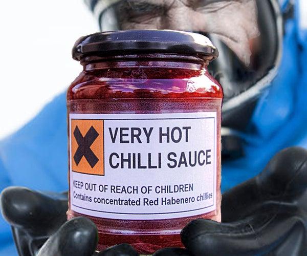 Very Hot Chilli Sauce