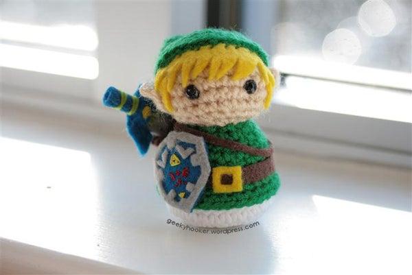 "Got a Copy of ""Creepy Cute"" by Christen Haden? Make Link From Zelda!"