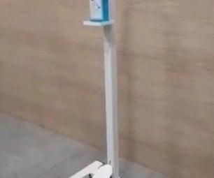 Foot Controlled Sanitizer Dispenser