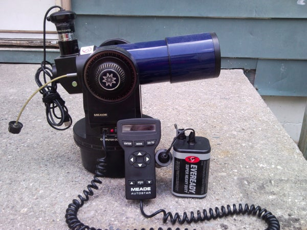 Webcammed  Mead EXT-60 Telescope