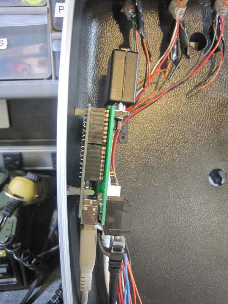 Schematic and Magic Mirror Arduino Shield