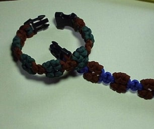 """How to Make an """"Islands"""" Paracord Bracelet"""