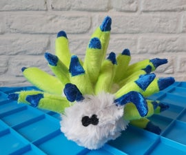 Leaf Sheep Slug Plush