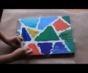 DIY Acrylic Canvas