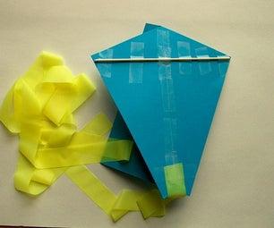 Easy Paper Kite for Kids
