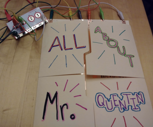 All About Me Interactive Papercraft With Makey Makey