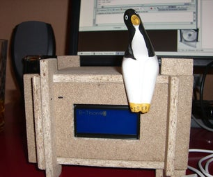 LcdMarker, a Lcd Device and Its Case Made of Wood