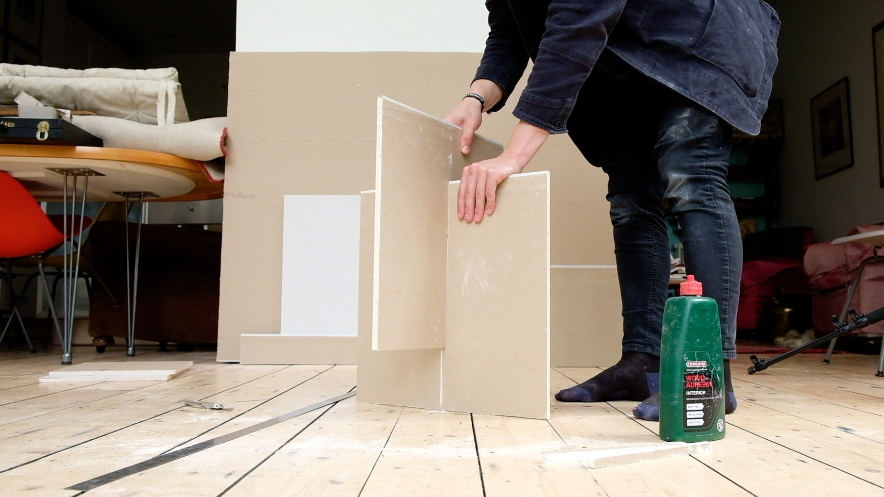 Glue Base Together + Assemble