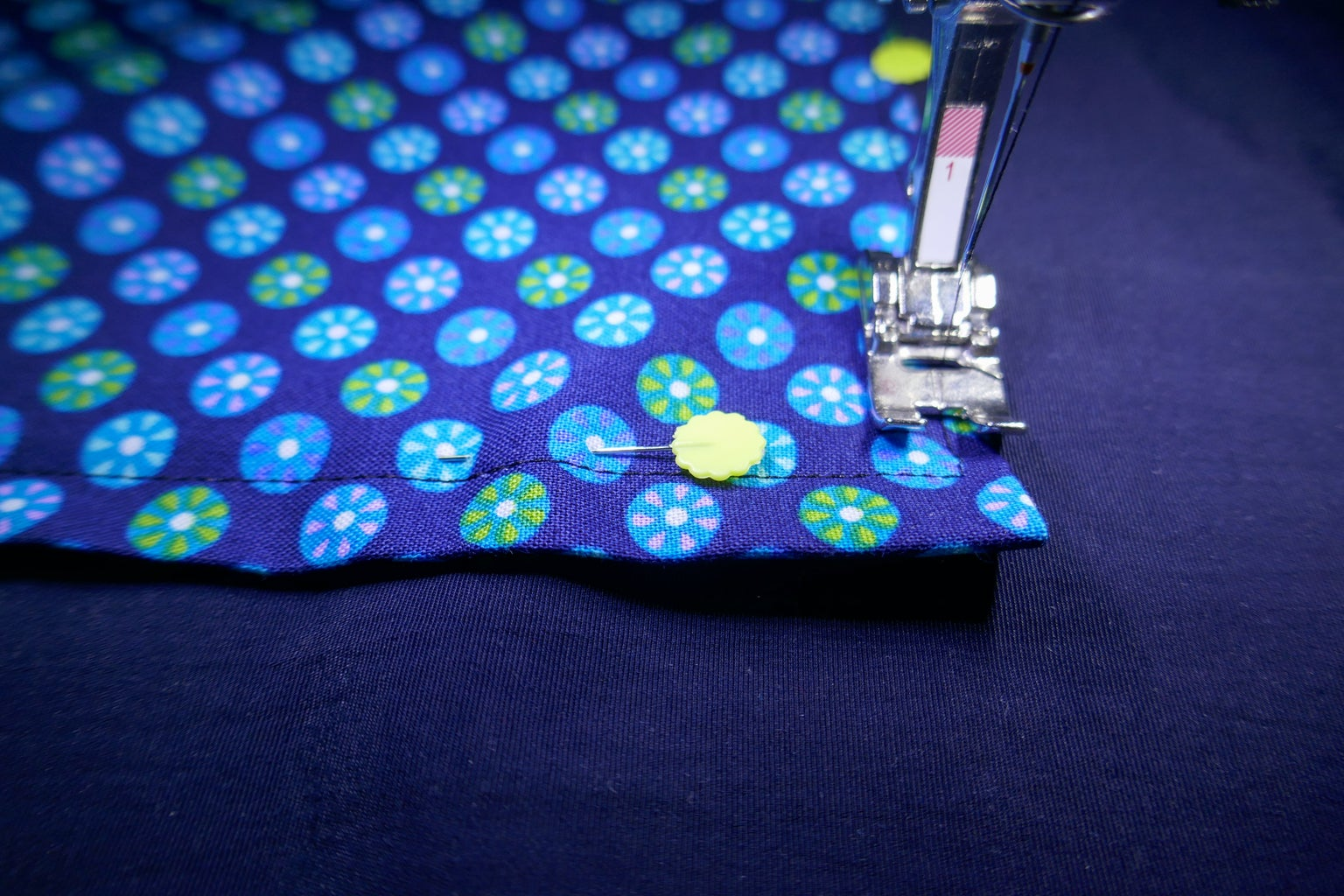 Sew Pocket to Pack Under Buttonholes