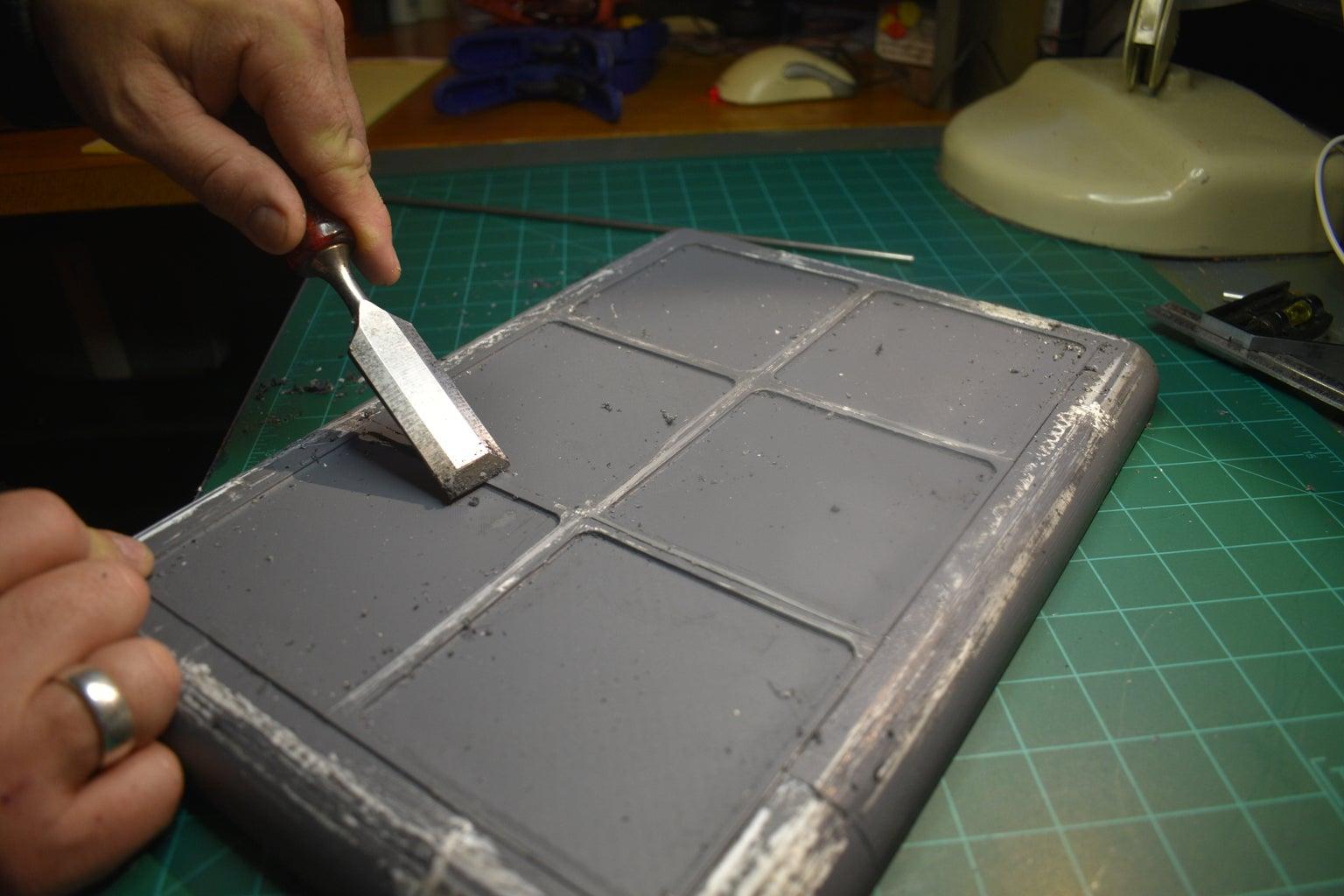 Clean Up Dried Glue
