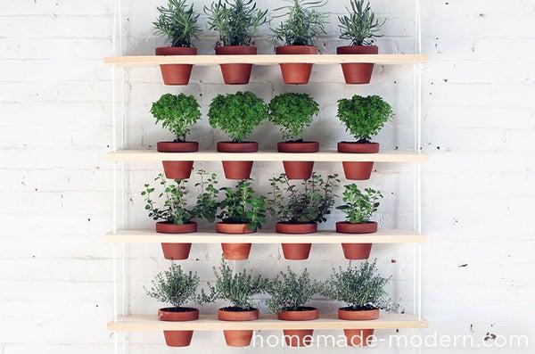 HomeMade Modern DIY Hanging Garden