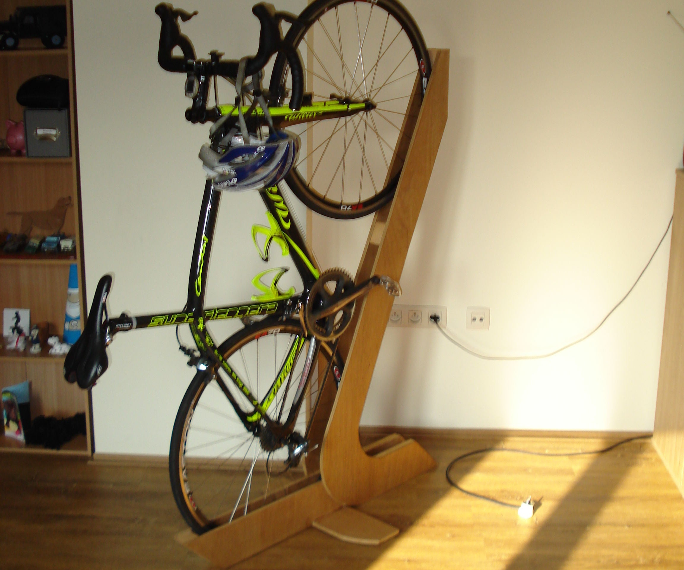 Bike Rack Of Wood 3 Steps With Pictures Instructables
