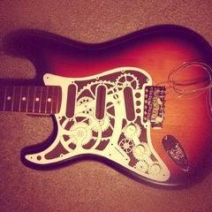 Create a 3D Steampunk Guitar Decal