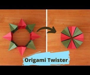 Paper Origami Twister
