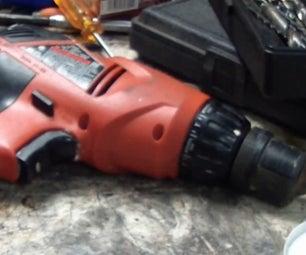 Eletric Hand Drill Clutch Fix
