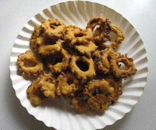 Sun Dried Bitter Gourd Fritters